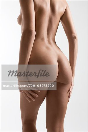 Nude Woman in Studio Stock Photo - Rights-Managed, Image code: 700-05973900