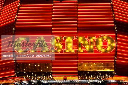 Fremont Hotel & Casino, Fremont Street, Las Vegas, Nevada, USA Stock Photo - Rights-Managed, Image code: 700-05973957