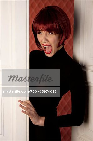 Woman Screaming Stock Photo - Rights-Managed, Image code: 700-05974015