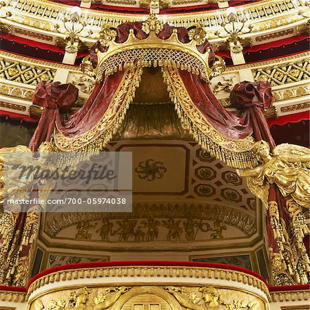 Teatro di San Carlo, Naples, Campania, Italy Stock Photo - Rights-Managed, Image code: 700-05974038