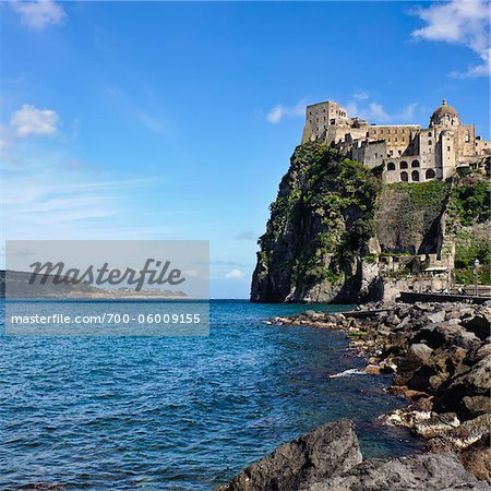 Aragonese Castle, Ischia, Campania, Italy Stock Photo - Rights-Managed, Image code: 700-06009155