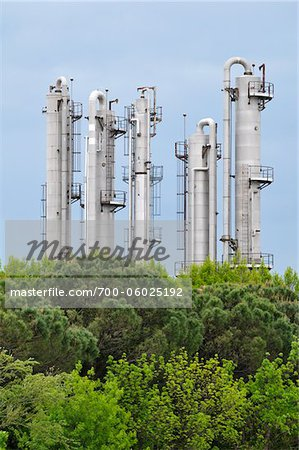 Processing Plant, Saint-Gilles, Camargue, France Stock Photo - Rights-Managed, Image code: 700-06025192