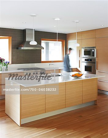 Man in Kitchen Stock Photo - Rights-Managed, Image code: 700-06038232