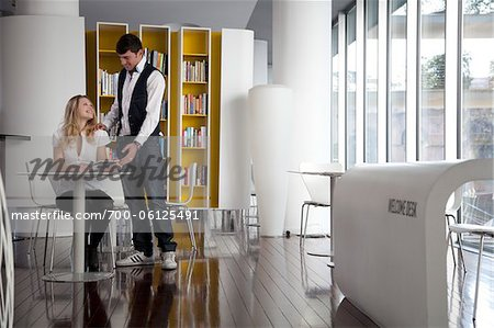 Business People with Tablet PC Stock Photo - Rights-Managed, Image code: 700-06125491