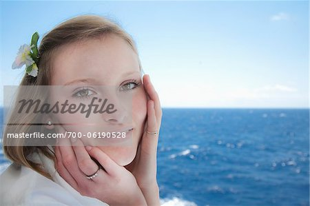 Close-up Portrait of Teenage Girl Stock Photo - Rights-Managed, Image code: 700-06190528