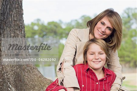 Portrait of Mother and Son Stock Photo - Rights-Managed, Image code: 700-06282092