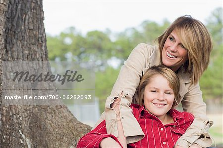 Portrait of Mother and Son Stock Photo - Rights-Managed, Image code: 700-06282093