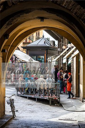 Busy Cafe, Florence, Tuscany, Italy Stock Photo - Rights-Managed, Image code: 700-06334767