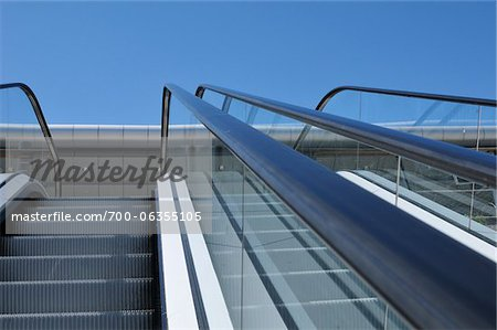 Close-Up of Escalators Stock Photo - Rights-Managed, Image code: 700-06355105