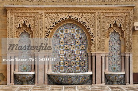 Mausoleum of Mohammed V, Rabat, Morocco Stock Photo - Rights-Managed, Image code: 700-06355167