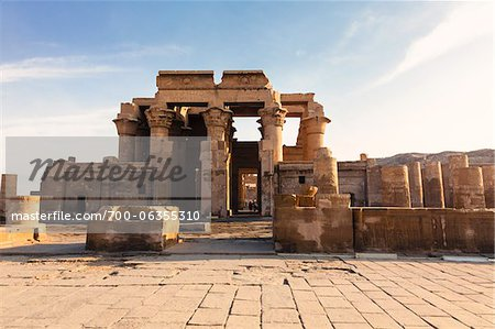 Temple of Kom Ombo, Kom Ombo, Aswan Governorate, Egypt Stock Photo - Rights-Managed, Image code: 700-06355310
