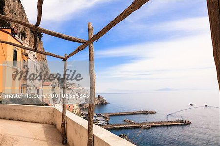 Village of Amalfi, Province of Salerno, Campania, Italy Stock Photo - Rights-Managed, Image code: 700-06355343