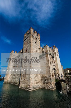 Scaliger Castle, Sirmione, Brescia, Lombardy, Italy Stock Photo - Rights-Managed, Image code: 700-06368185