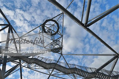 Tetraeder, Bottrop, Ruhr Basin, North Rhine-Westphalia, Germany Stock Photo - Rights-Managed, Image code: 700-06368489