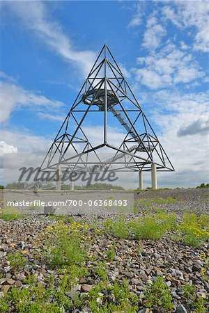 Tetraeder, Bottrop, Ruhr Basin, North Rhine-Westphalia, Germany Stock Photo - Rights-Managed, Image code: 700-06368493