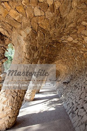 Park Guell, Barcelona, Spain Stock Photo - Rights-Managed, Image code: 700-06383679