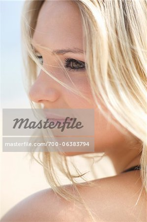 Close-Up of Young Woman Stock Photo - Rights-Managed, Image code: 700-06383794