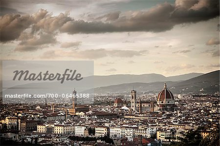 City Skyline, Florence, Tuscany, Italy Stock Photo - Rights-Managed, Image code: 700-06465388