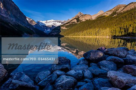 Lake Louise, Banff National Park, Alberta, Canada Stock Photo - Rights-Managed, Image code: 700-06465431