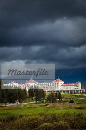Mount Washington Hotel, Carroll, Coos County, New Hampshire, USA Stock Photo - Rights-Managed, Image code: 700-06465692