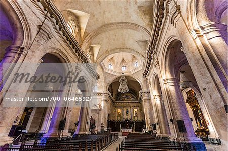 Interior of Cathedral of Havana, Havana, Cuba Stock Photo - Rights-Managed, Image code: 700-06465927