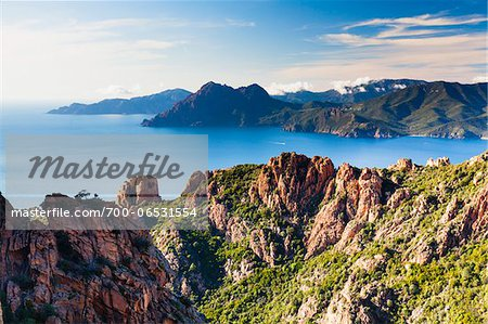 Calanques de Piana, Corsica, France Stock Photo - Rights-Managed, Image code: 700-06531554