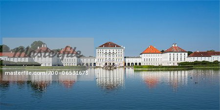 Nymphenburg Palace, Munich, Oberbayern, Bavaria, Germany Stock Photo - Rights-Managed, Image code: 700-06531673