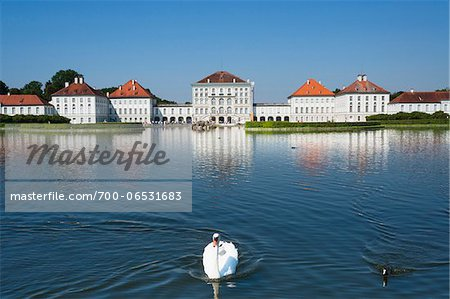Germany, Bavaria, Oberbayern, Munich, München, Nymphenburg Palace Stock Photo - Rights-Managed, Image code: 700-06531683
