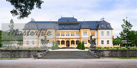 Veitshochheim Castle, Wurzburg, Lower Franconia, Bavaria, Germany Stock Photo - Rights-Managed, Image code: 700-06553357