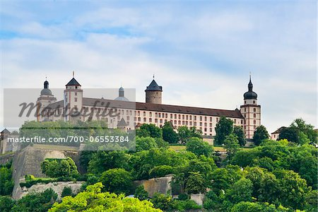 Germany, Bavaria, Lower Franconia, Wuerzburg, Marienberg Fortress Stock Photo - Rights-Managed, Image code: 700-06553384