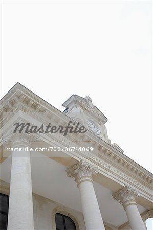 Low Angle View of Town Hall in Arcachon, France Stock Photo - Rights-Managed, Image code: 700-06714069