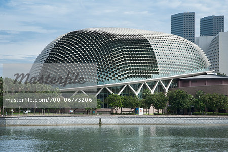 Esplanade Theatres on the Bay in Singapore Stock Photo - Rights-Managed, Image code: 700-06773206