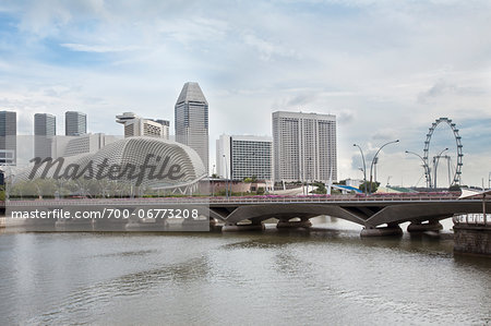 Marina Bay in Singapore Stock Photo - Rights-Managed, Image code: 700-06773208