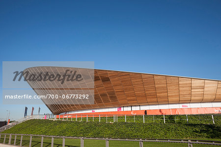 Cycling Velodrome built for London 2012 Summer Olympics, Stratford, East London, UK Stock Photo - Rights-Managed, Image code: 700-06773292