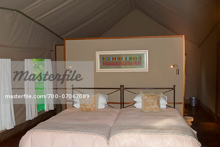 Ongava Tented Camp, Namibia, Africa Stock Photo - Rights-Managed, Image code: 700-07067089