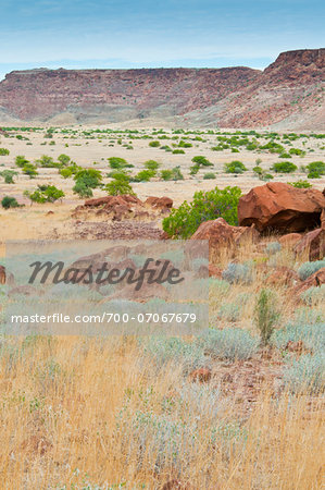 Twyfelfontein, UNESCO World Heritage site, Damaraland, Kunene Region, Namibia, Africa Stock Photo - Rights-Managed, Image code: 700-07067679