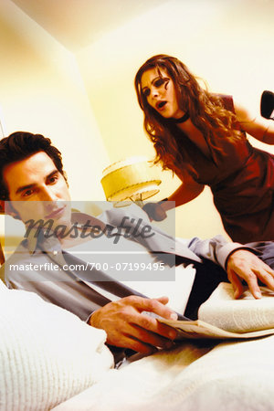 Couple in Argument Stock Photo - Rights-Managed, Image code: 700-07199495
