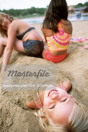 Kids at the Beach Stock Photo - Rights-Managed, Image code: 700-07199585