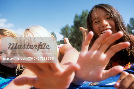 Kids at the Beach Stock Photo - Rights-Managed, Image code: 700-07199586