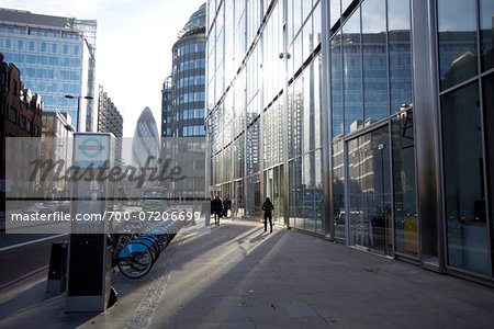 Financial District, East London, England Stock Photo - Rights-Managed, Image code: 700-07206699