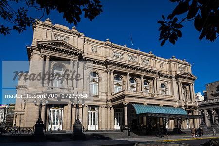 Teatro Colon, Buenos Aires, Argentina Stock Photo - Rights-Managed, Image code: 700-07237754