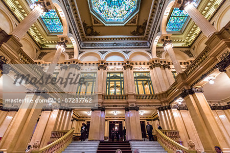 Interior of Teatro Colon, Buenos Aires, Argentina Stock Photo - Rights-Managed, Image code: 700-07237762