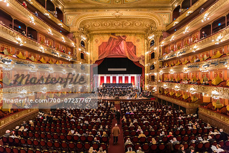 Interior of Teatro Colon, Buenos Aires, Argentina Stock Photo - Rights-Managed, Image code: 700-07237767