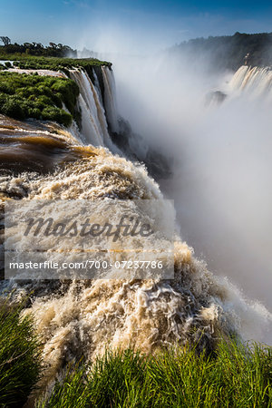 Devil's Throat (Garganta del Diablo) at Iguacu Falls, Iguacu National Park, Argentina Stock Photo - Rights-Managed, Image code: 700-07237786