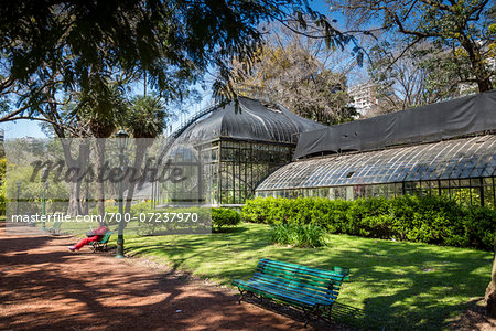 Greenhouse, Botanical Gardens of Buenos Aires, Buenos Aires, Argentina Stock Photo - Rights-Managed, Image code: 700-07237970