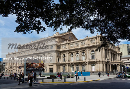Teatro Colon, Buenos Aires, Argentina Stock Photo - Rights-Managed, Image code: 700-07237973