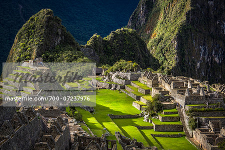 Scenic overview of Machu Picchu, Peru Stock Photo - Rights-Managed, Image code: 700-07237976