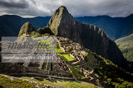 Scenic overview of Machu Picchu, Peru Stock Photo - Rights-Managed, Image code: 700-07237977