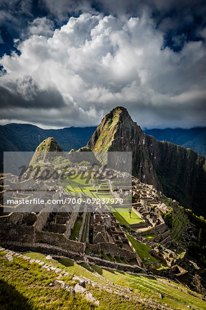 Scenic overview of Machu Picchu, Peru Stock Photo - Rights-Managed, Image code: 700-07237979