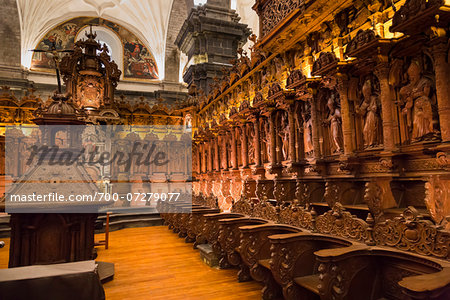 Interior of Cathedral of Santo Domingo, Cusco, Peru Stock Photo - Rights-Managed, Image code: 700-07279077